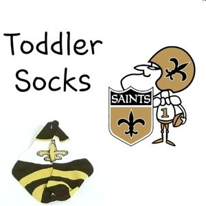 ⚜ FBF Toddler Saints Rugby Block Socks ⚜